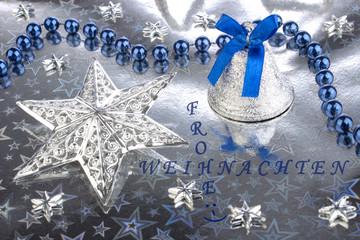 Sterne Glöckchen Perlen Text