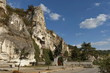 The Entrance of the rock monastery  Basarbovo