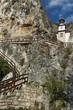 "The rock monastery ""St Dimitrii of Basarbovo"", Bulgaria."