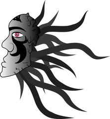 Dark mask symbol