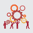 teamwork design - 70915013