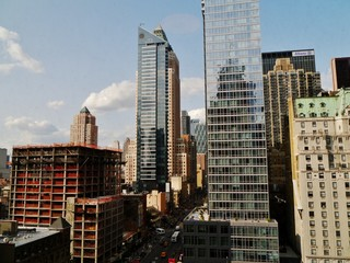 Wolkenkratzer in New York