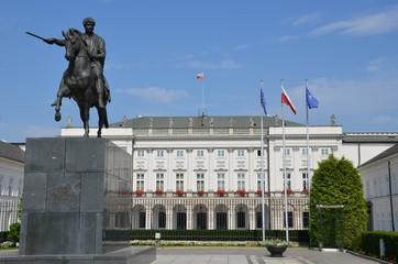 Palais présidentiel Varsovie Pologne Koniecpolski