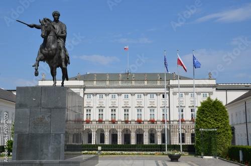 obraz lub plakat Palais présidentiel Varsovie Pologne Koniecpolski