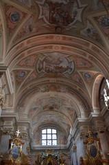 Intérieur Eglise Sainte Anne à Varsovie