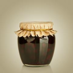 Sweet berry jam. Dessert