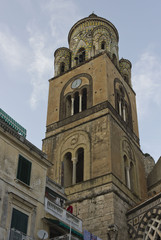 Amalfi Cathedral, Italy, Tower detail
