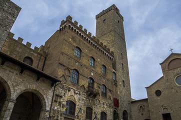 San Gimignano - Piazza