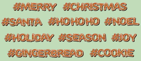 Hashtag Christmas - Gingerbread Cookie
