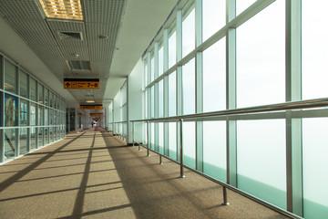 corridor of airport