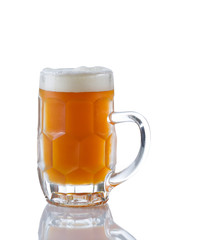 Stein filled with Amber Beer