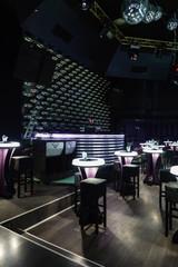 Dance club interior. Bulgaria