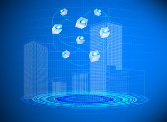 Cloud computing in cities technology background