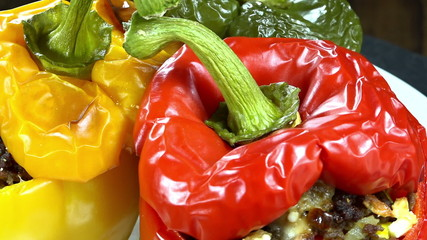 Rotating Stuffed Peppers (loopable)