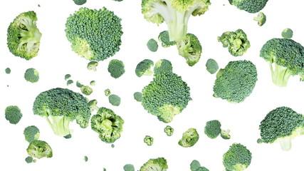 Falling Broccoli