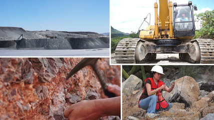 Mining Process and Activity Collage