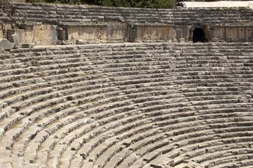Greco-Roman amphitheater in Myra, Demre, Turkey, Scene 2