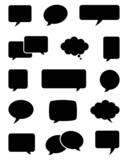 Speech Bubble Icons - 70927613
