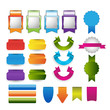 web banners,tags,stickers,pointer,labels collection