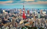 Tokyo city view visible on the horizon - 70928059