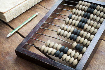 abacus on table