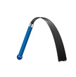 Whip with dark blue handle