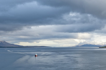 Akureyri Iceland coastal view