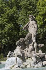 Neptunbrunnen in  München