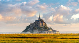Mont Saint-Michel in morning haze