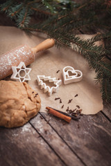 Christmas time for baking cookies .