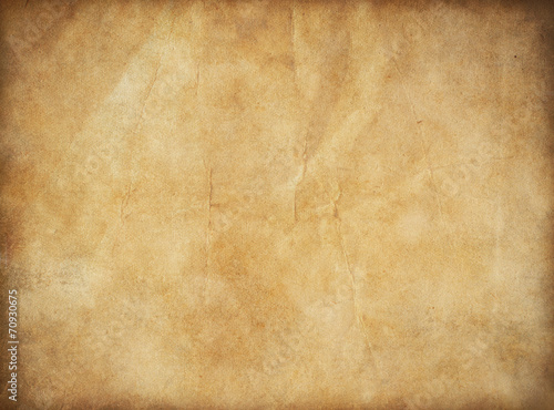 grunge old paper for treasure map or vintage letter - 70930675