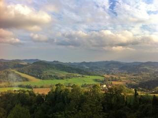 piedimont hills,italy