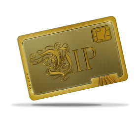 VIP - Chipkarte Gold
