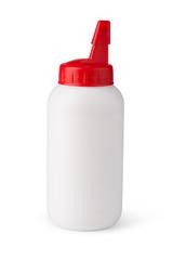 glue tube isolated on white