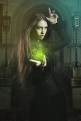 Beautiful witch magic