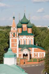 Храм Михаила Архангела в Ярославле, Россия.