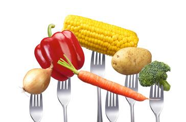 Gemüsesortiment