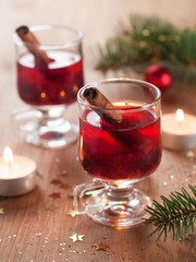 Hot tea or mulled wine