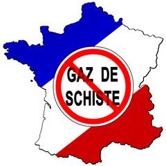 Pas d'extraction du gaz de schiste en France