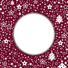 Weihnachtskarte unbeschriftet