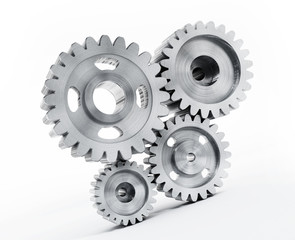 Gears isolated