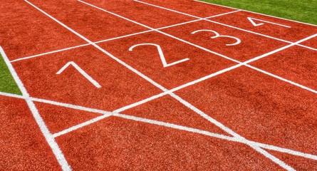 Wettkampf - Leichtathletik -1. Platz