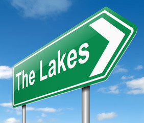 Lakes concept.