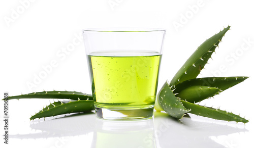 Foto op Canvas Cactus Aloevera on the table