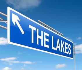 Lakes concept.