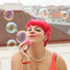 Seifenblasen machen