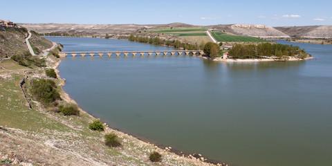 puente sobre el pantano