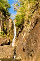 Water Falls Stream of White