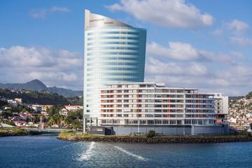 Modern Architecture on Coast of Martinique