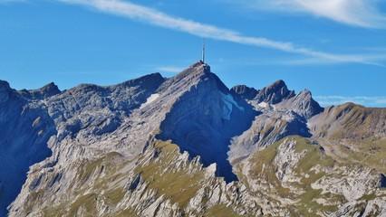 Säntisgipfel, Alpstein, Ostschweiz